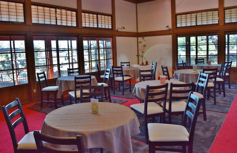 前橋・臨江閣は「花燃ゆ」ゆかりの地。期間限定カフェで維新の味を!