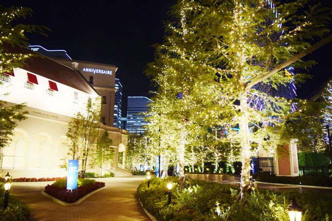 キラキラの光でいっぱいの「アニヴェルセル みなとみらい横浜」