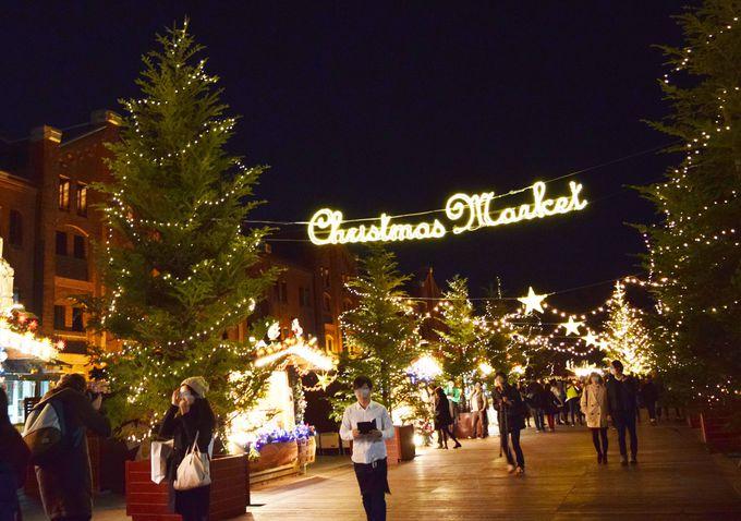 赤レンガ倉庫、本場さながらのクリスマスマーケット