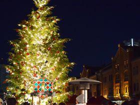 冬の夜、大切な人と。横浜赤レンガ倉庫クリスマスマーケット