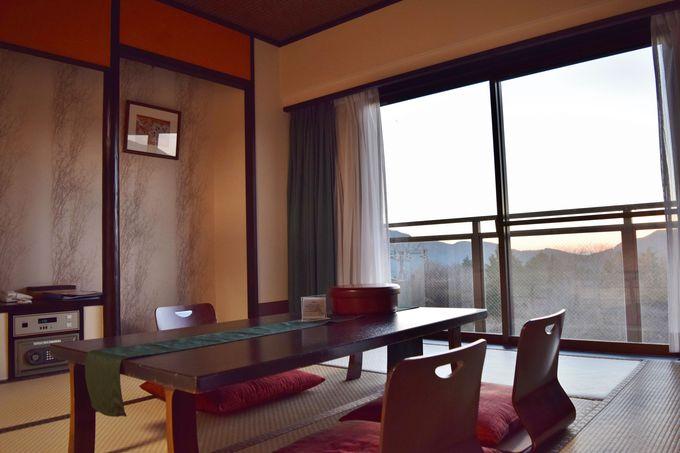 富士見和室で、お部屋ステイを最大限楽しむ