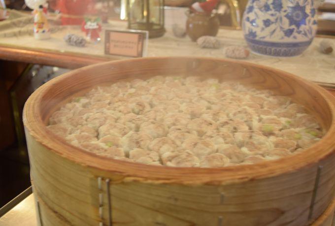 「アリババ」では崎陽軒のシウマイが食べ放題!