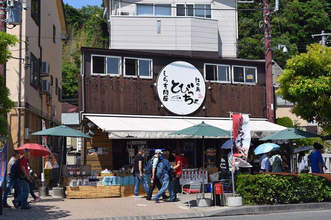 江ノ島の人気店「しらす問屋 とびっちょ」