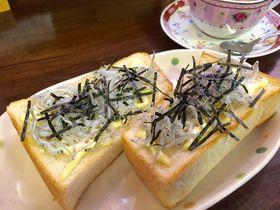 海街diaryのモデル?「鎌倉キネマ堂」でしらすトーストとジンジャーミルクティを