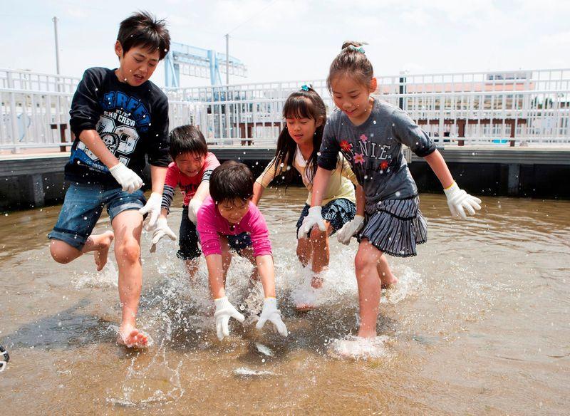 子連れの夏休みは横浜・八景島シーパラダイス!「うみファーム」で魚釣りとお魚観察