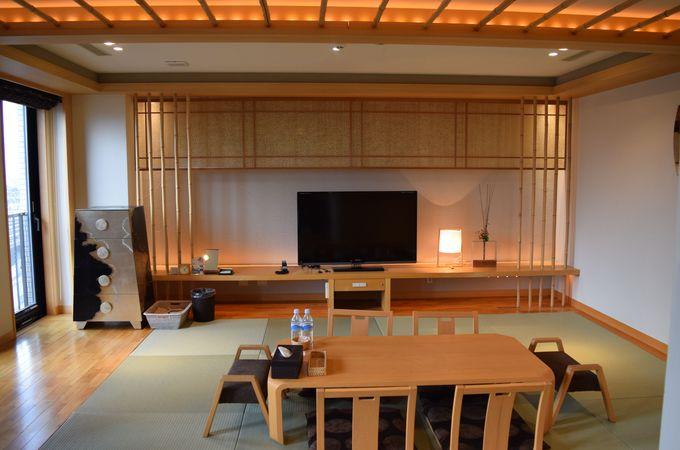 広い和室は52平米!モダンでおしゃれな印象