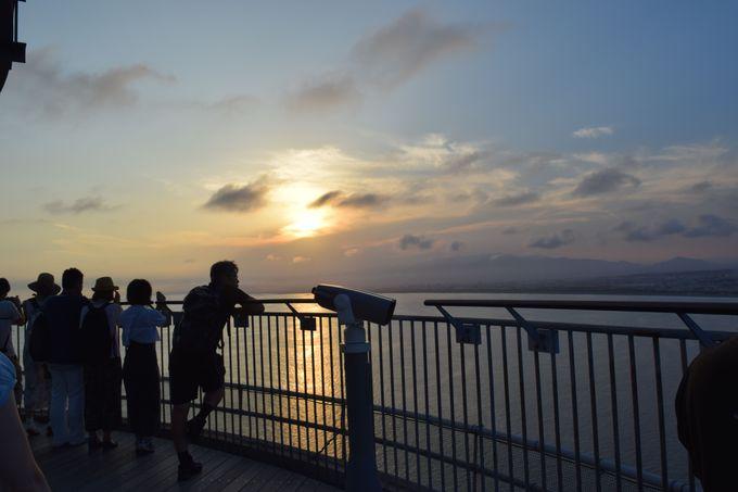 プランニングのコツ:江の島灯籠はサンセットから楽しもう!