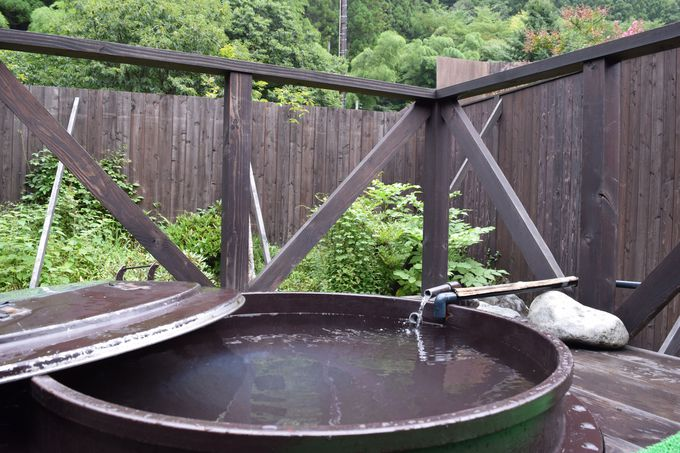 【16:30】温泉に入って一休み