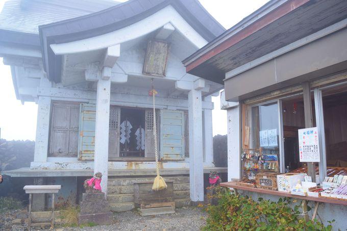 御釜以外の周辺見どころ「刈田嶺神社」