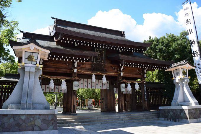 湊川神社は神戸駅徒歩3分の好アクセス