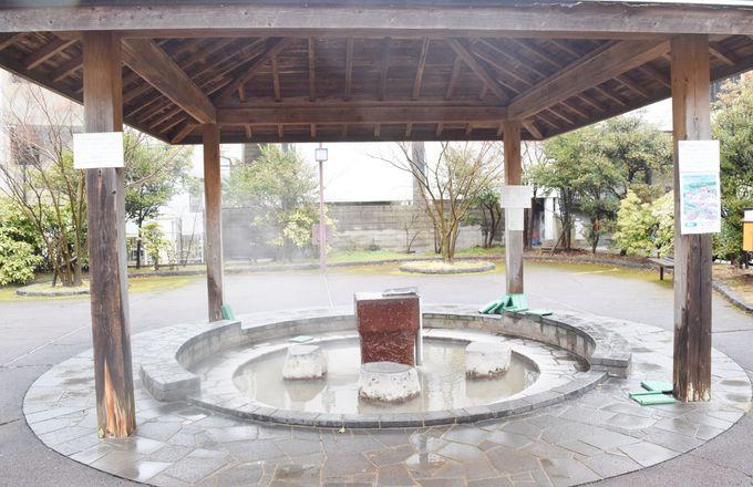 まずは温泉を満喫。共同浴場や足湯めぐりも楽しい雲仙温泉