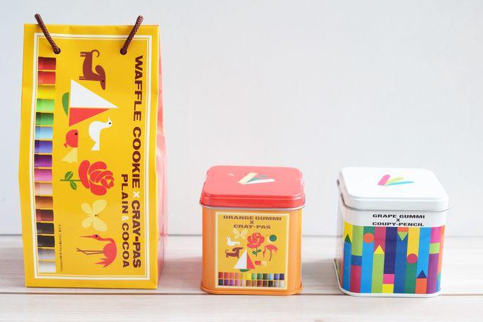 クレパス柄にクーピー柄…商品ラインナップは7種類!