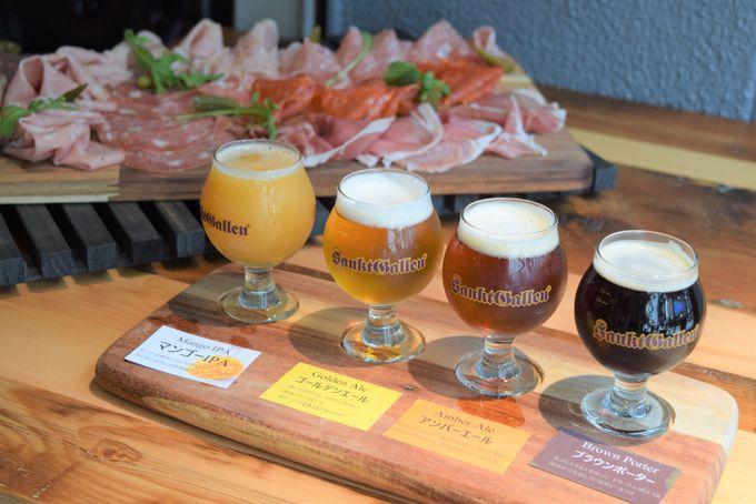 サンクトガーレンのクラフトビールに、パン工房と食肉加工所が併設!