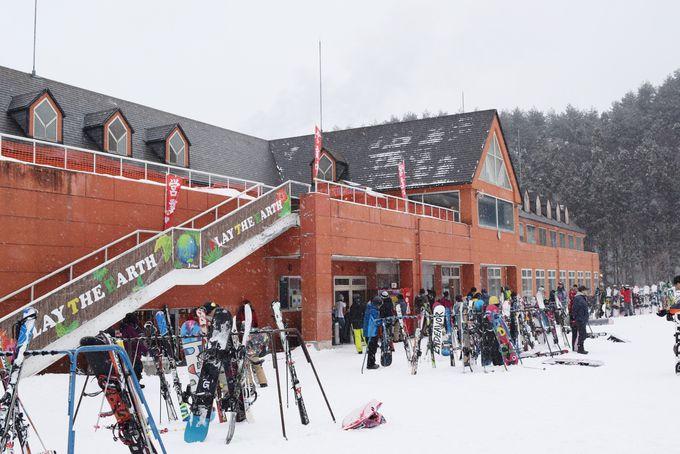 首都圏から楽々アクセスできる「ノルン水上スキー場」