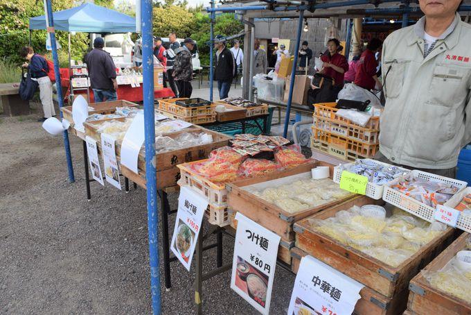 三浦野菜に養鶏場の卵、工場直売の麺類も!