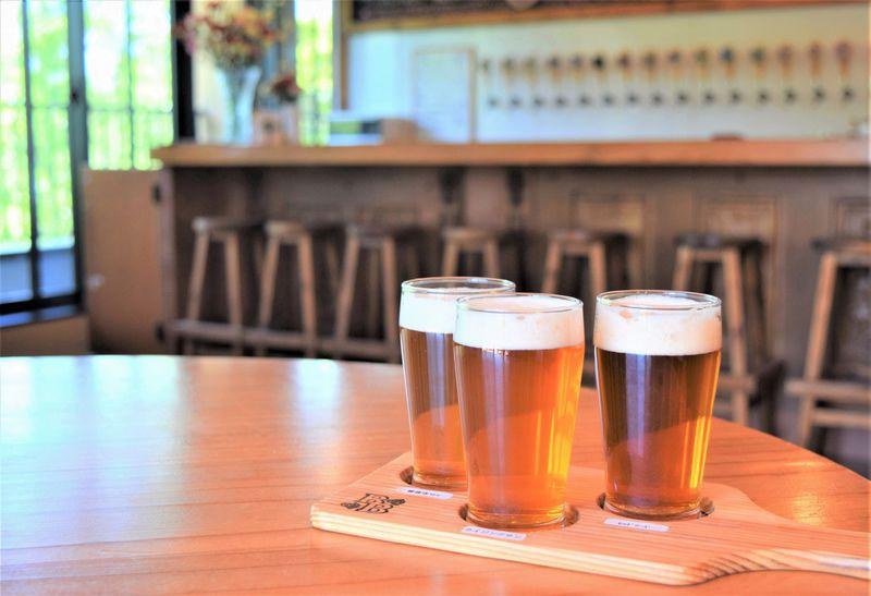 ベアード・ブルワリーガーデン修善寺で工場見学&できたてビール!