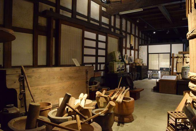 見学スポットも!「酒の民族文化博物館」「初恋神社」