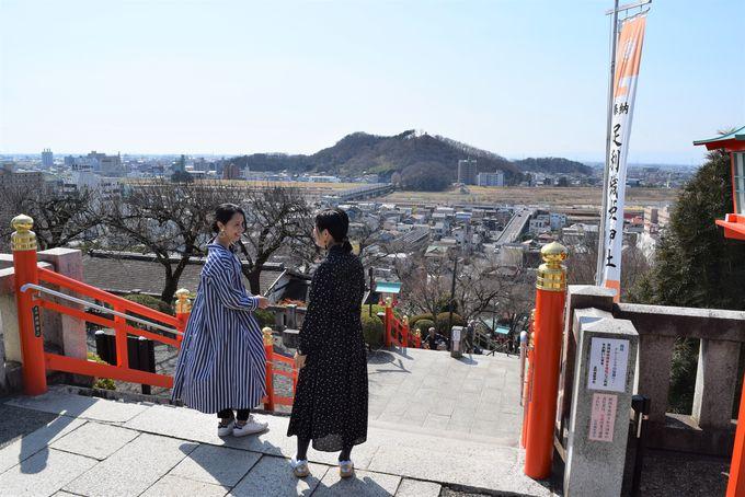 10:00 足利織姫神社からスタート