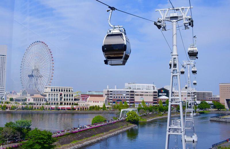 「YOKOHAMA AIR CABIN」横浜みなとみらいにロープウェイが登場!