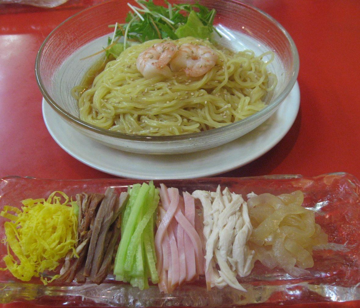 冷やし中華発祥と言われる仙台・龍亭の涼拌麺!