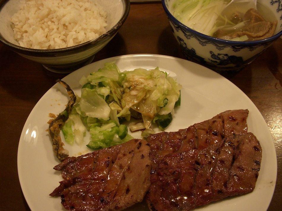 元祖牛タンを謳う「味 太助」の3点セットは仙台ならではの味!