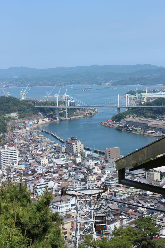 尾道水道と尾道大橋の景色を一望!
