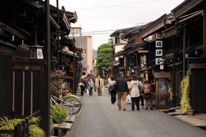 岐阜観光の定番中の定番スポット「飛騨高山」