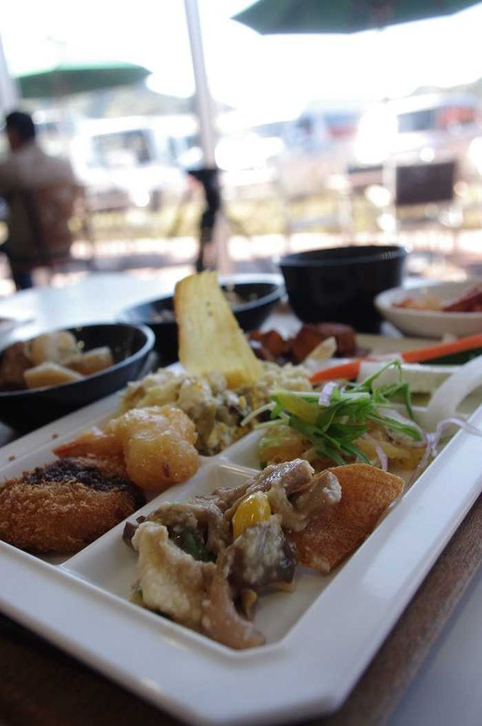 静岡グルメを好きなだけ。高原の自然派ビュッフェでご当地ランチに舌鼓!