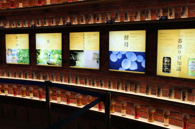 ビアガーデンというだけでなく、プチ工場見学気分も味わえる開放型店舗!