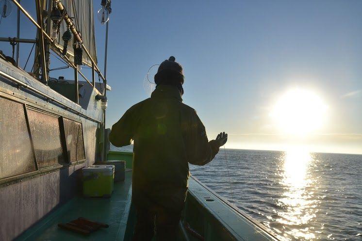 初心者も大歓迎!船に乗って茨城県・那珂湊の大海原でタコ釣り体験。