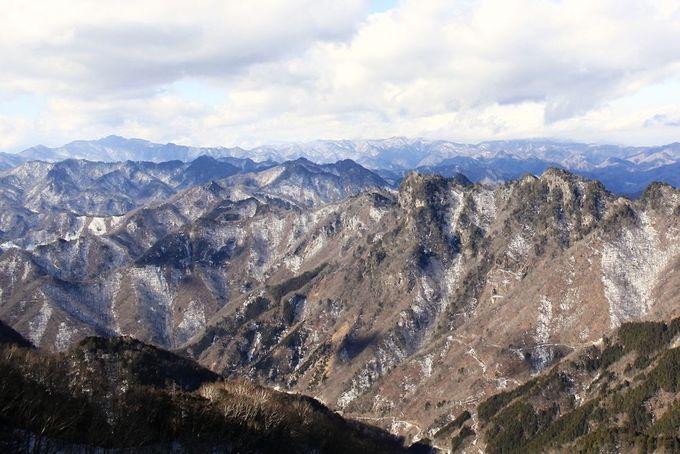 我が物顔で絶景を独り占め!?両神山の山頂
