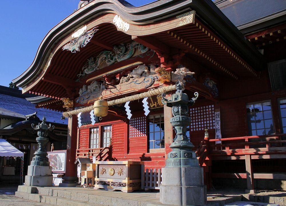 まずは安全祈願に御岳神社に行ってみよう!