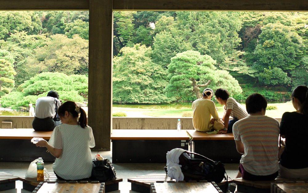 新宿御苑のルーツ!名景観ココにあり