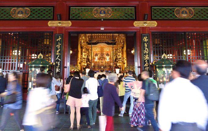 パワースポットの浅草寺で聖観音菩薩の御加護をいただく!