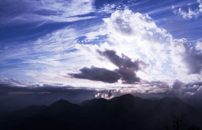 丹沢縦走の絶景パノラマ