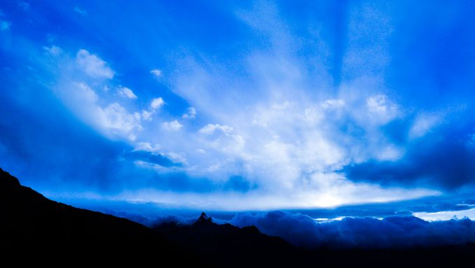 「2日目・王の頂き槍ヶ岳へ」