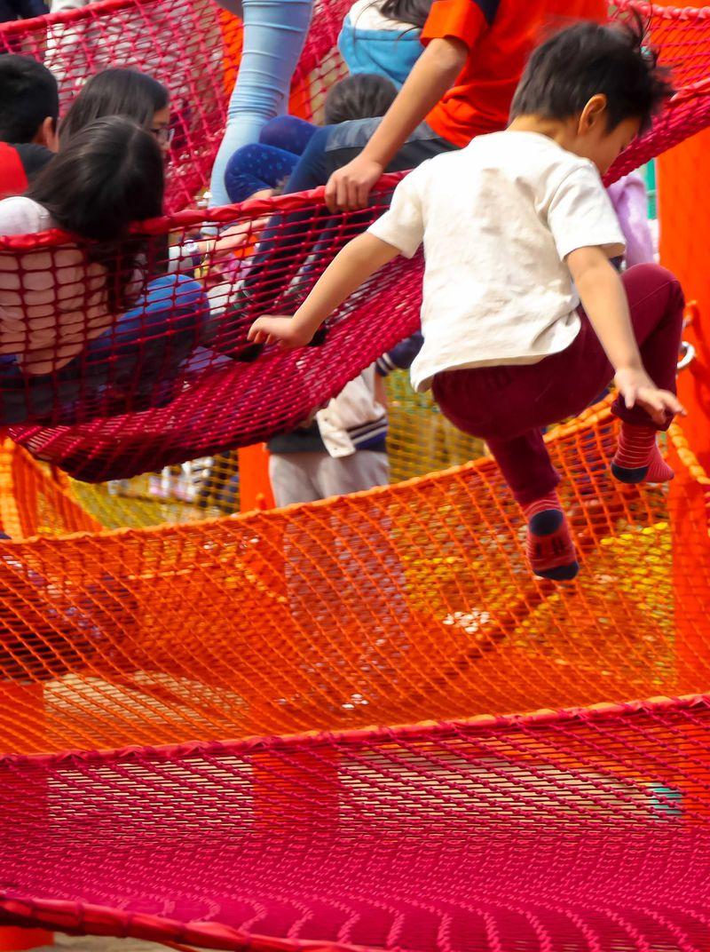BBQ、虹のハンモックでお子様大興奮「立川・昭和記念公園 Flower Festival2017」