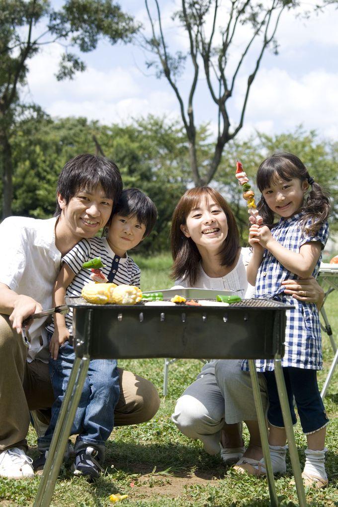 2017年のゴールデンウイークは昭和記念公園でBBQ