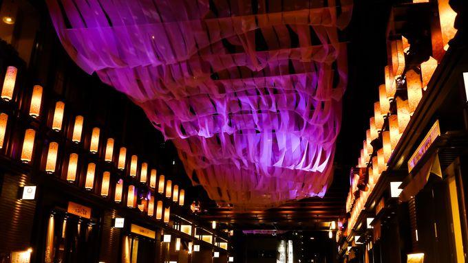 4、福徳の森の桜と日本橋 桜フェスティバル