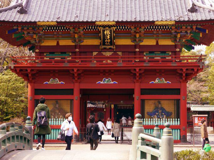 ツツジの絶景地・根津神社の概要、アクセス