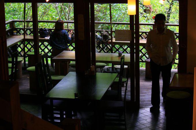お肉カフェ・アースガーデンの六白黒豚でオーガニックランチ