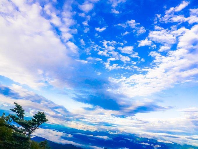 北奥千丈岳は南西方面の大展望が素晴らしい!