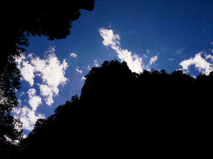 昇仙峡の表ハイライト覚円峰(かくえんぽう)