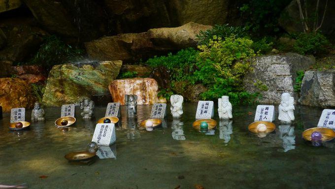 昇仙峡の水晶街道と夫婦円満エリア