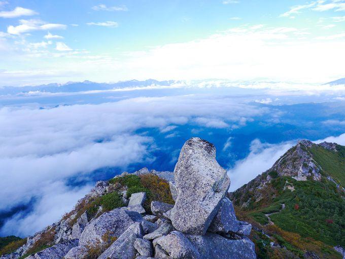 森林限界を突破!砂払ノ頭から金峰山の稜線はただただ美しい