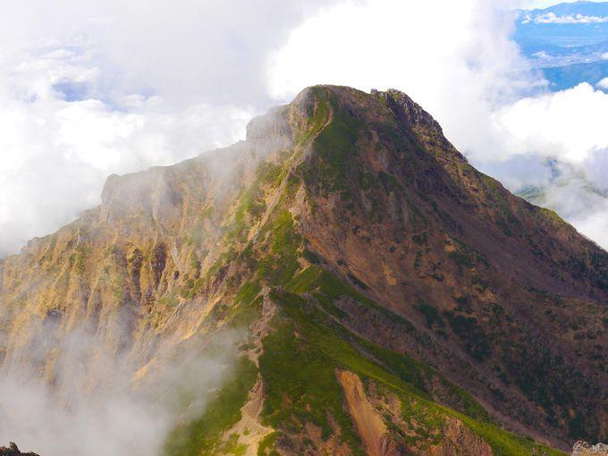阿弥陀岳、横岳、硫黄岳の色々な絶景!