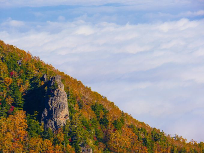 標高2224m双子山からの風景