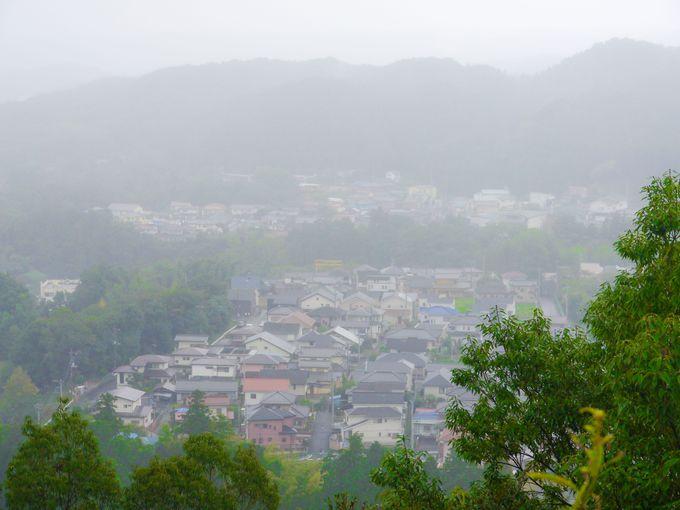 三度変化する天覧山から見える風景はあなどりがたい