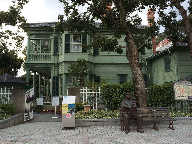 神戸の市街地が一望できる♪異人館「萌黄(もえぎ)の館」