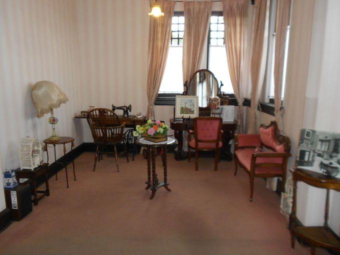 2階では、子供部屋や客用寝室などのプライベートルームが見学できる